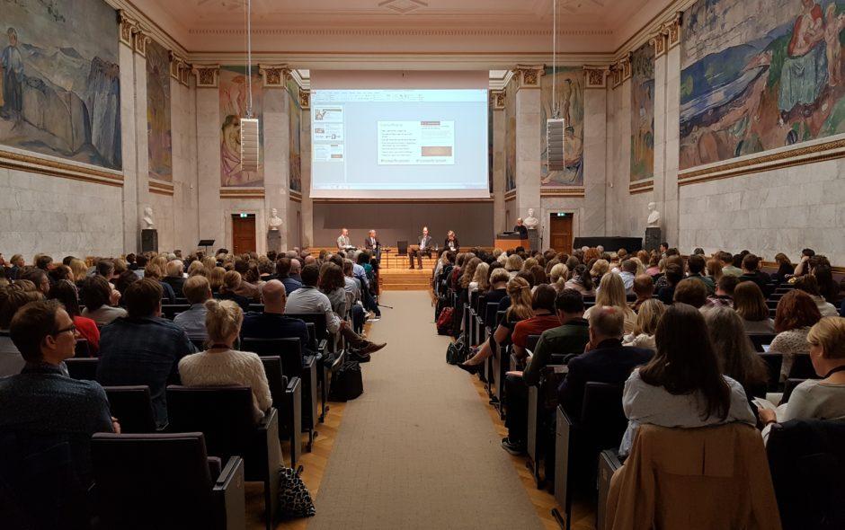 Lovkonferansen 2019: Digitalisering som svar på vårt århundres utfordringer?
